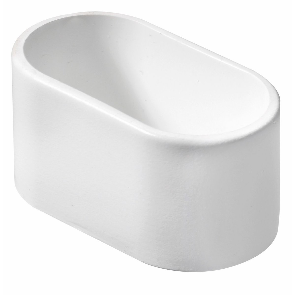 Hettich Fußkappe Für Ovale Rohre 38 Mm X 20 Mm Weiß Kaufen Bei Obi von Fusskappen Oval Für Gartenstühle Bild