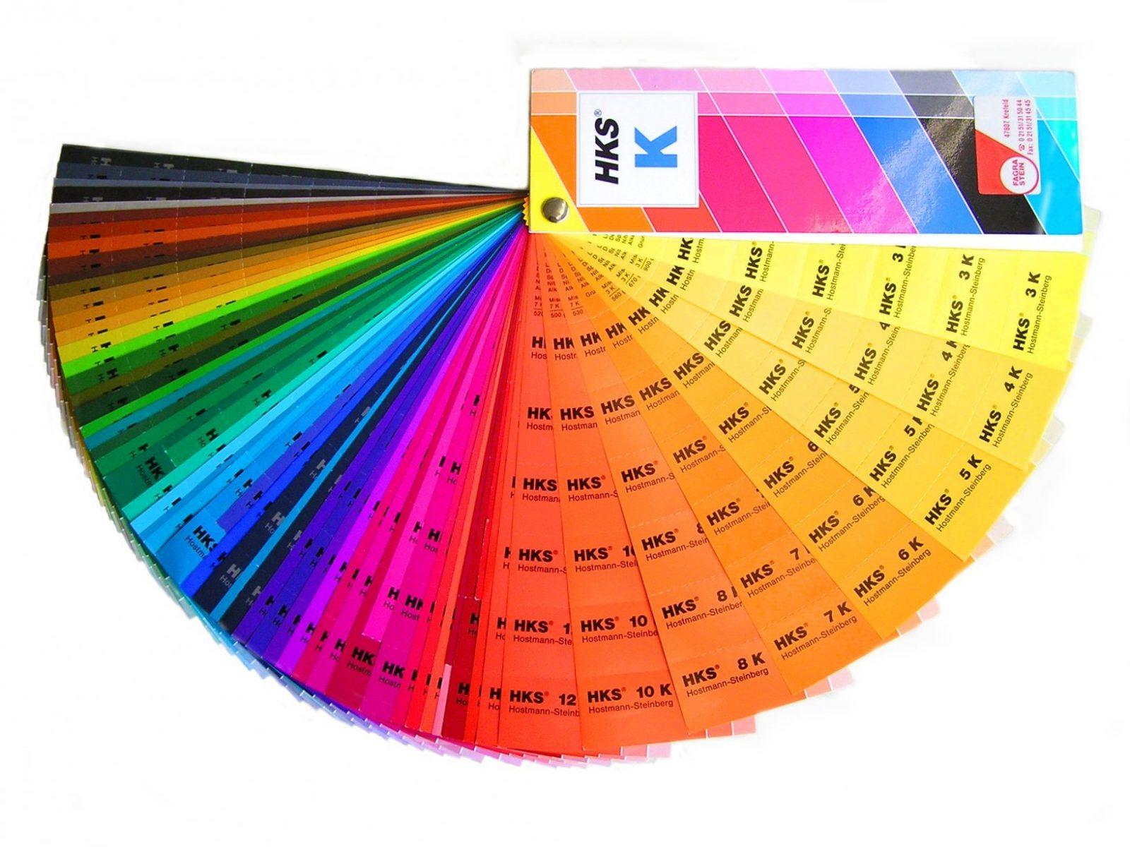 Hksfarbfächer – Wikipedia von Ral Farben Selber Mischen Bild