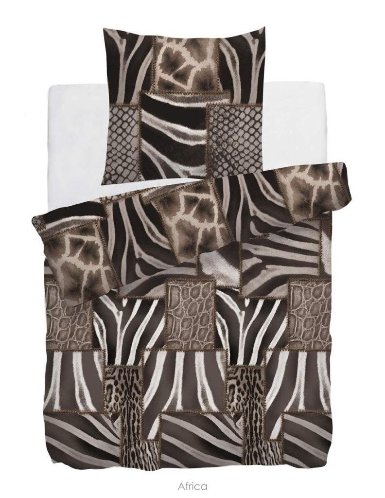 Hnl Baumwolle Bettwäsche Afrika Muster Braun 135X200 Cm  Baumwolle von Bettwäsche Afrika Baumwolle Bild