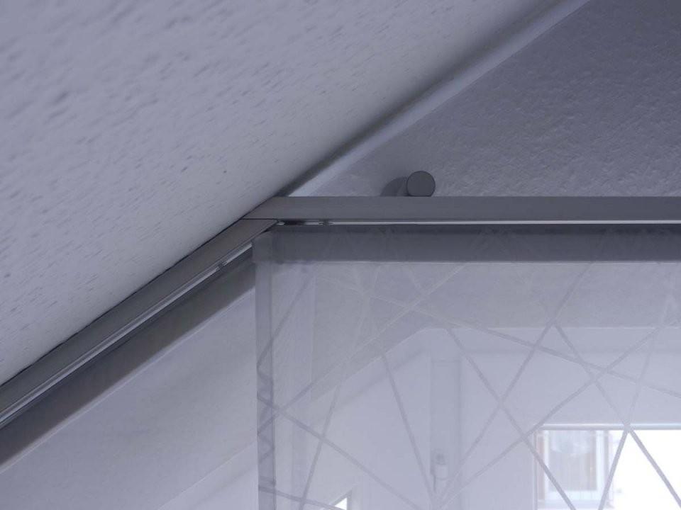 Hobbyhandwerkinserat Flächenvorhang Für Dachschräge Und Schräge von Gardinen Ideen Für Schräge Fenster Bild