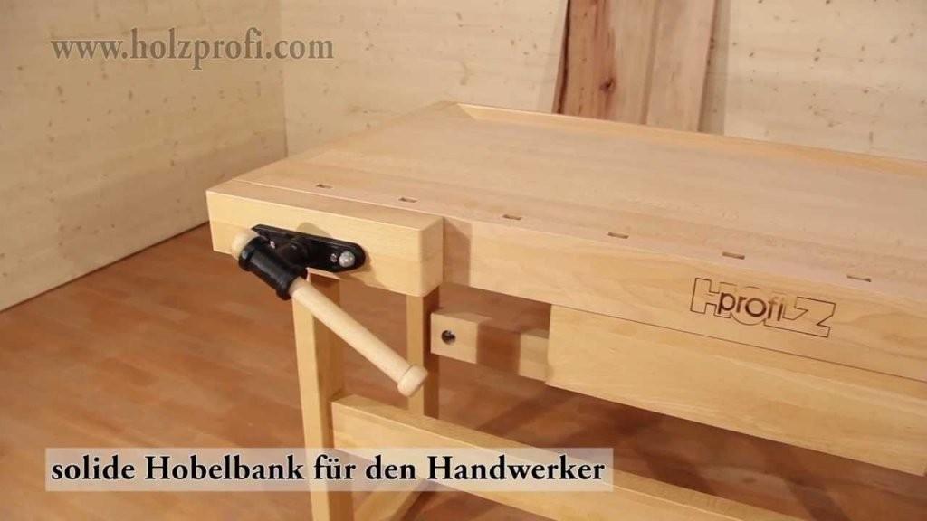 Hobelbank Von Holzprofi Pb16003 Zum Holz Bearbeiten Wie Schnitzen von Hobelbank Selber Bauen Bauanleitung Bild