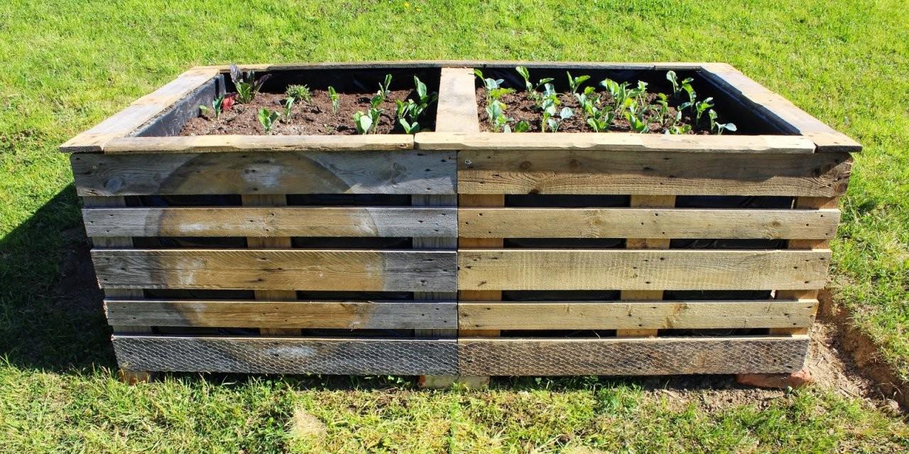 Hochbeet Aus Europaletten – Ein Reblog Von Alliumart – Fliederherz von Hochbeet Europaletten Selber Bauen Photo