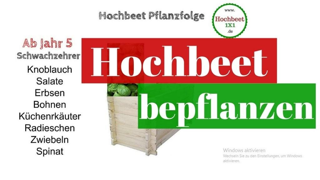 Hochbeet Bepflanzen In Den Jahren 1234567  Hochbeet von Hochbeet Bepflanzen Erstes Jahr Bild