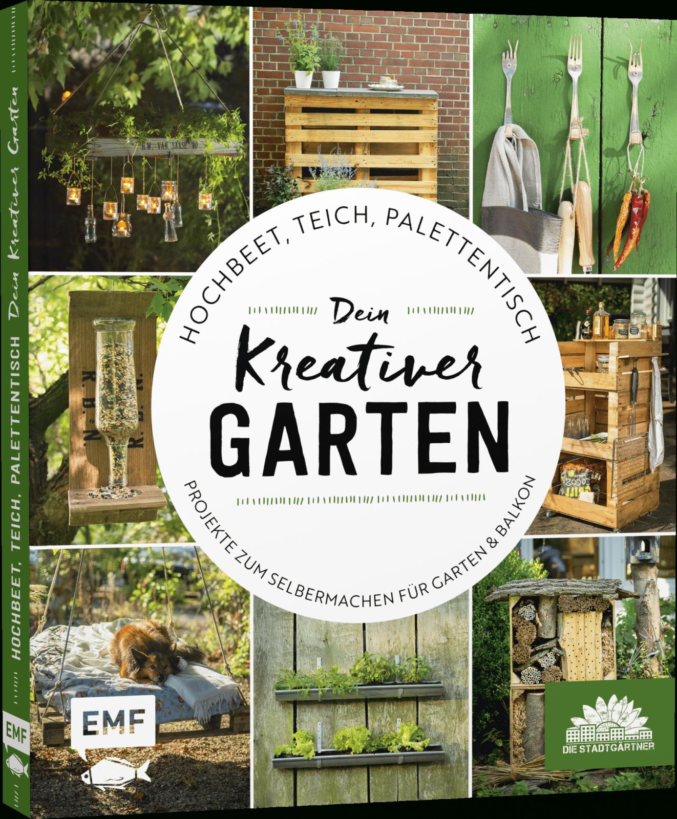Hochbeet Teich Palettentisch – Dein Kreativer Garten – Emf Verlag von Kreative Gartengestaltung Selber Machen Photo