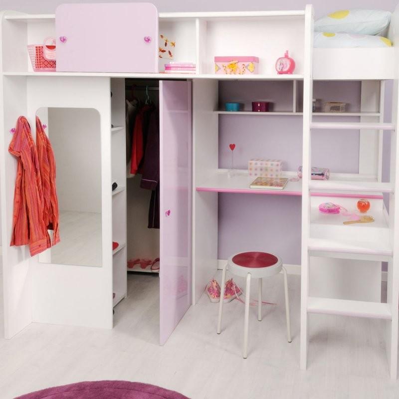 Hochbett Schrank Schreibtisch Ikea Jugendzimmer Mit Hochbett von Ikea Hochbett Mit Schreibtisch Und Schrank Bild