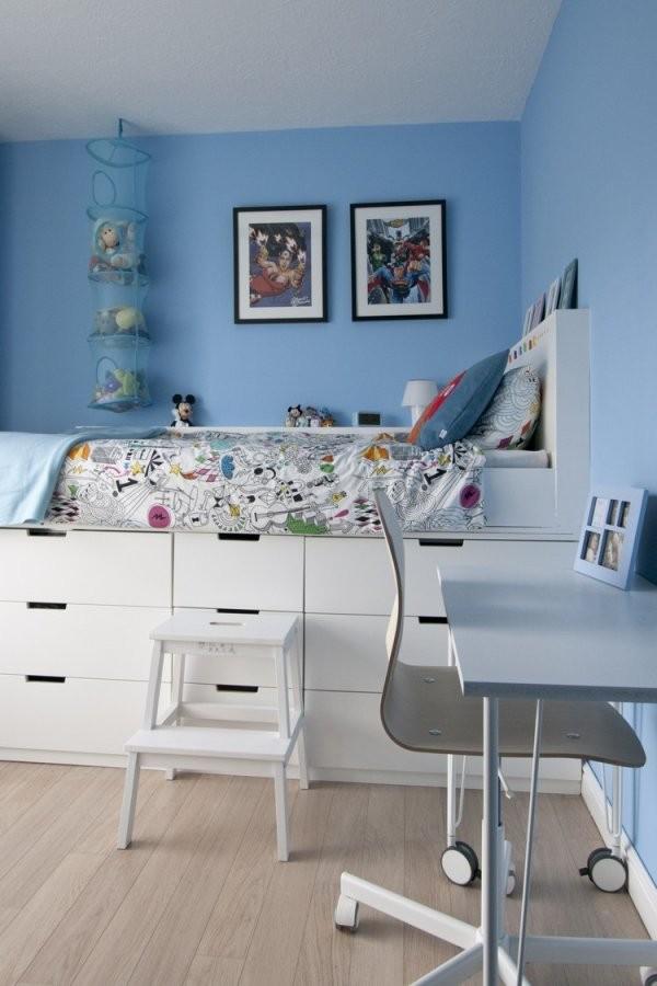 Hochbett Selber Bauen Mit Ikea Möbeln  Betten Mit Stauraum von Ikea Hochbett Für Erwachsene Bild