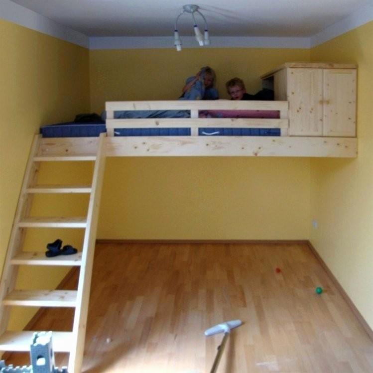 Hochbett Treppe Bauen Schön Hochbett Selber Bauen Ideen Beste Hoch von Bett Mit Stufen Selber Bauen Bild