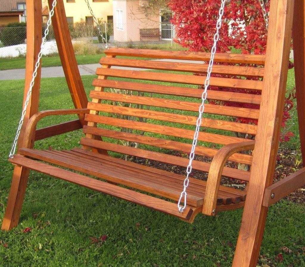 Hollywoodschaukel Gartenschaukel Hollywood Schaukel Holz Lärche von Gartenschaukel Selber Bauen Anleitung Bild