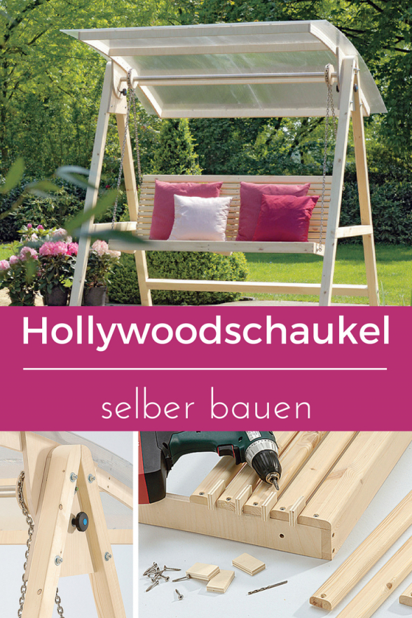 Hollywoodschaukel Selber Bauen  Wanderlust  Hollywoodschaukel von Gartenschaukel Selber Bauen Anleitung Bild