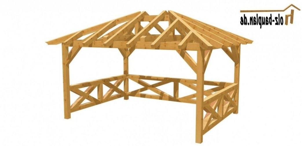 Holz Pavillon 3X3 Selber Bauen  Fkh von Holz Pavillon 3X3 Selber Bauen Bild
