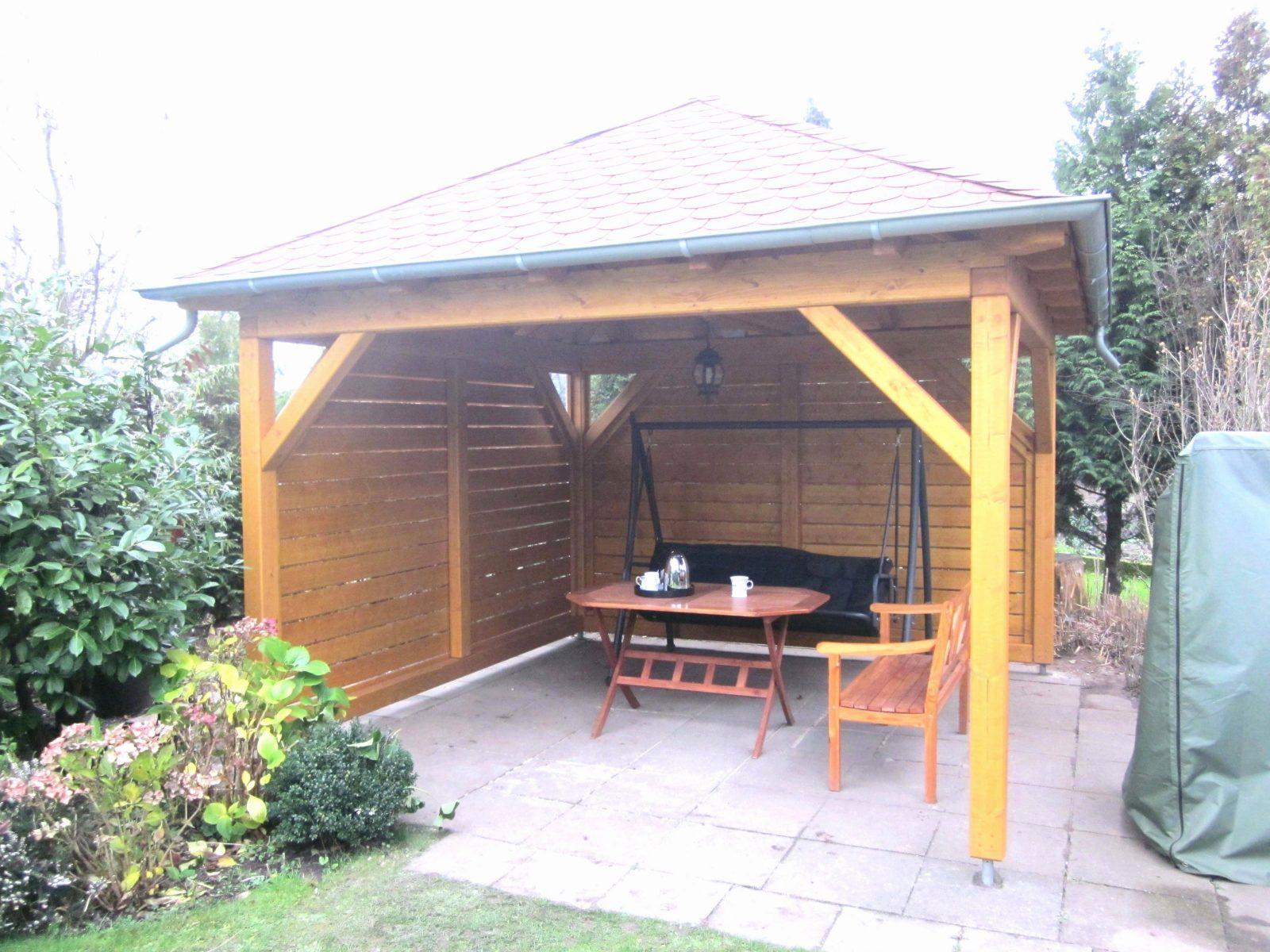 Holz Pavillon 3X4 Selber Bauen Für Ideen Pavillon 3X4 Holz von Holz Pavillon 3X4 Selber Bauen Bild