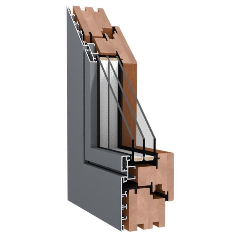 Holzalu Fenster Online Kaufen  Fensterblick von 3 Fach Verglaste Fenster Nachteile Bild