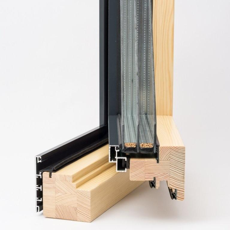 Holzalu Fenster Online Kaufen  Fensterblick von Fenster 3 Fach Verglasung Nachteile Bild