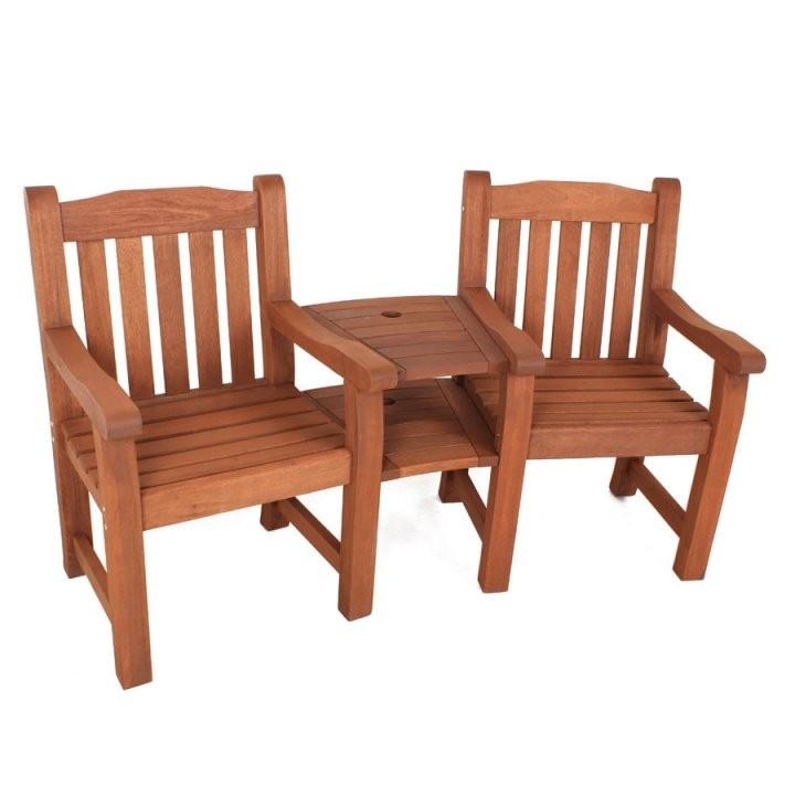 Holzbank Mit Tisch Q0D4 Rundholzbank Holzbank Tisch Garnitur Garten von Holzbank Mit Integriertem Tisch Bild