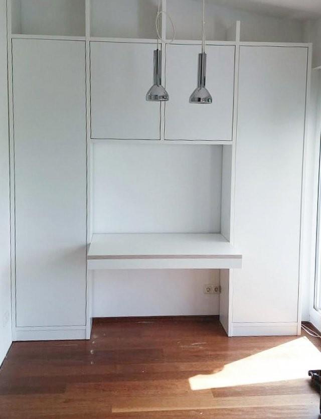 Holzconnection – Möbel Nach Maß Ohne Tischleraufpreis von Schrank Mit Integriertem Schreibtisch Photo
