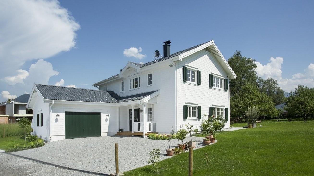 Holzhäuser Im Amerikanischen Skandinavischen  New England Stil von Amerikanische Häuser Bauen In Deutschland Bild