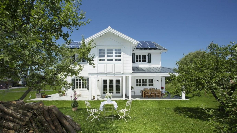 Holzhäuser Im Amerikanischen Skandinavischen  New England Stil von Amerikanische Häuser In Deutschland Bauen Photo