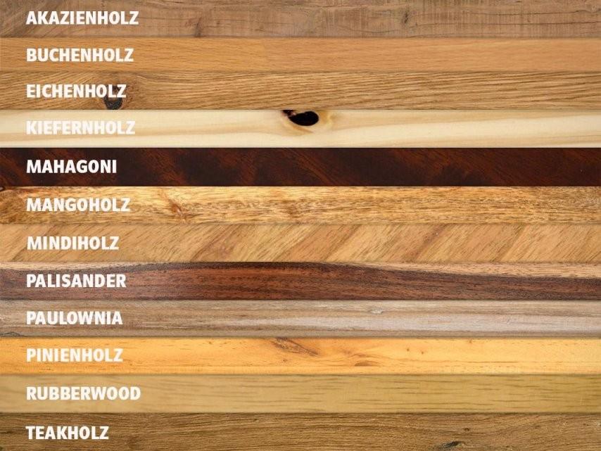 Holzmöbel In Harmonierenden Holzarten Kombinieren  Massivum von Verschiedene Holzarten Im Wohnzimmer Bild