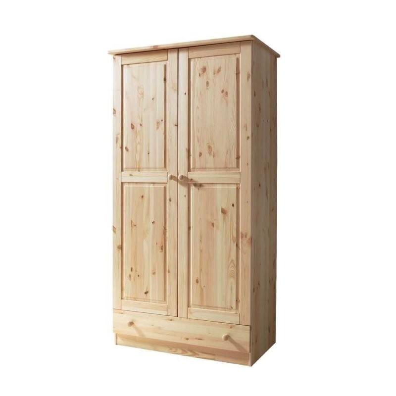 Holzschrank Loppia Aus Kiefer Massivholz  Wohnen von Kiefer Möbel Natur Lackiert Photo
