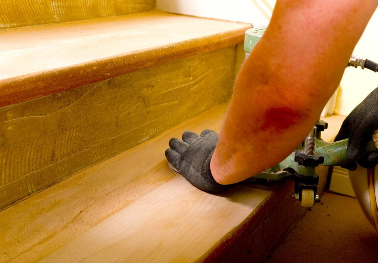 Holztreppe Neu Streichen  Schritt Für Schritt Anleitung von Treppe Streichen Welche Farbe Photo