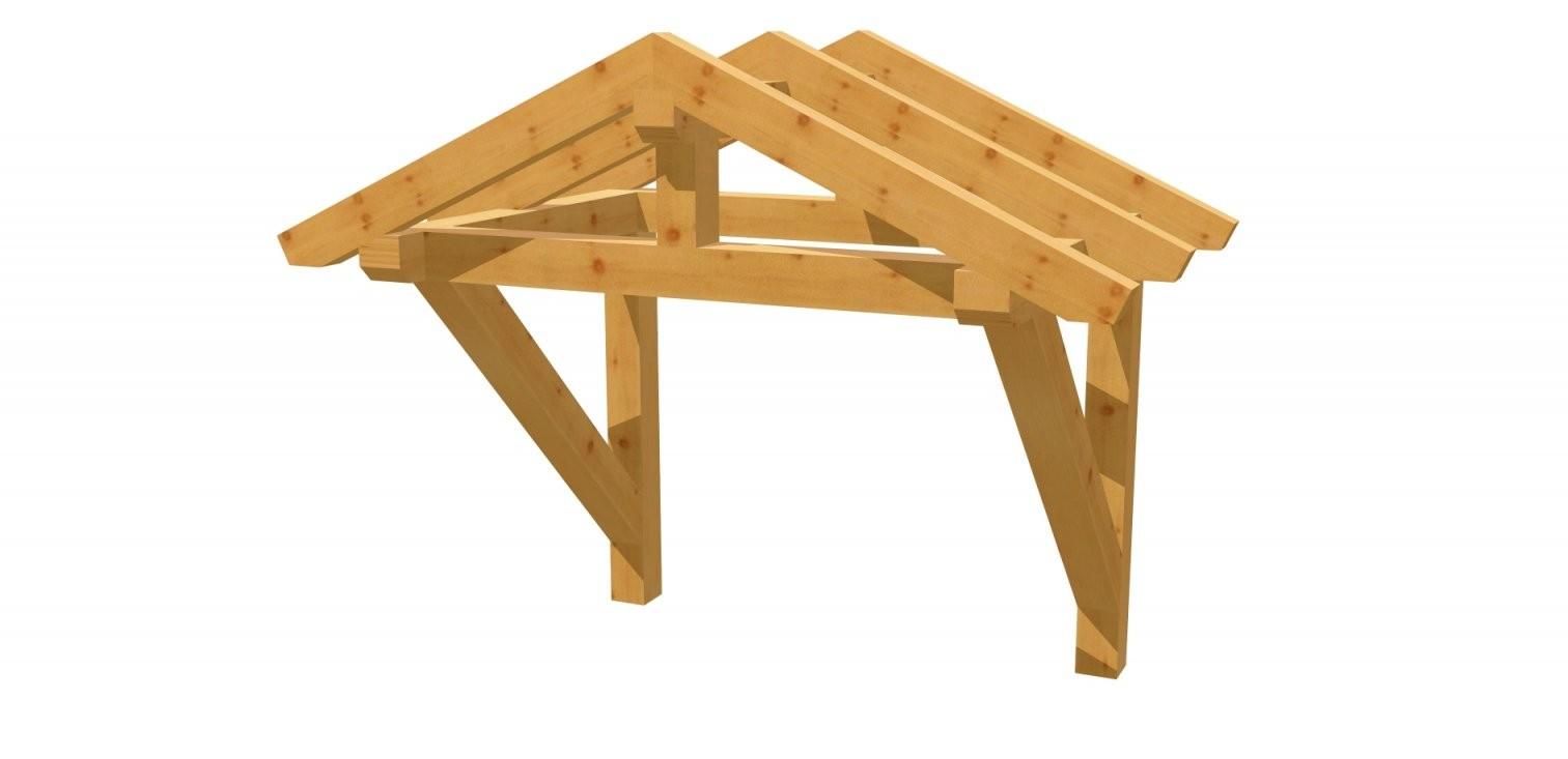Holzvordach Selber Bauen  Holzbauplan von Überdachung Holz Selber Bauen Photo