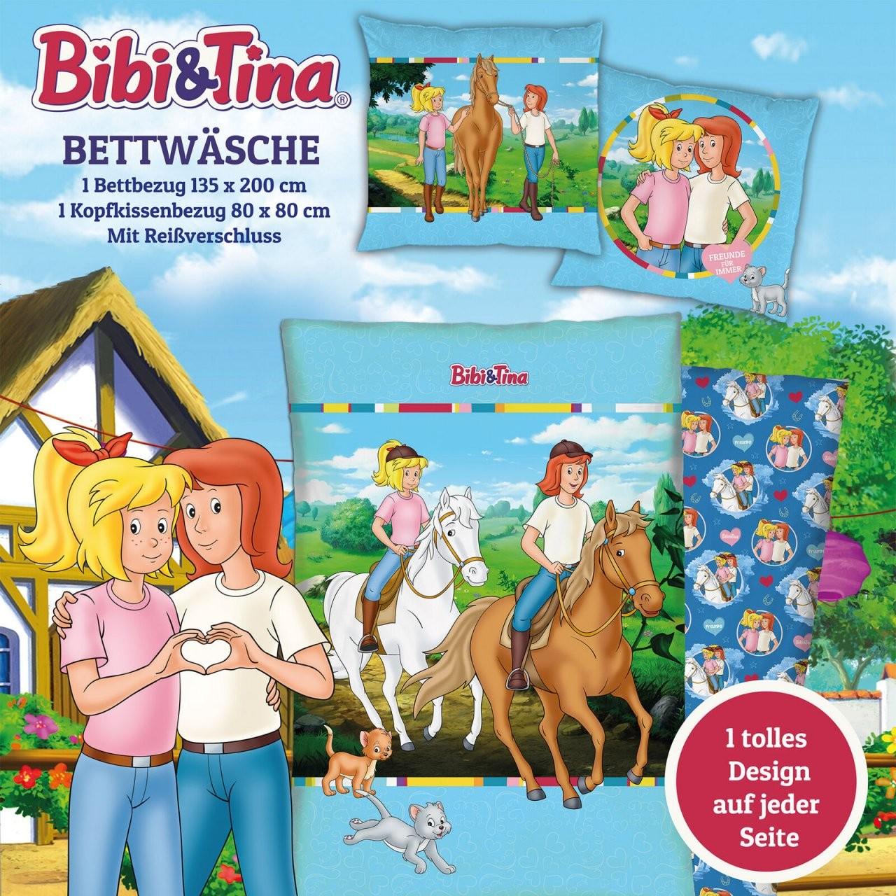 Home Furniture  Diy Bedding Bibi Und Tina Kinder Bettwäsche von Bettwäsche Bibi Blocksberg Bild
