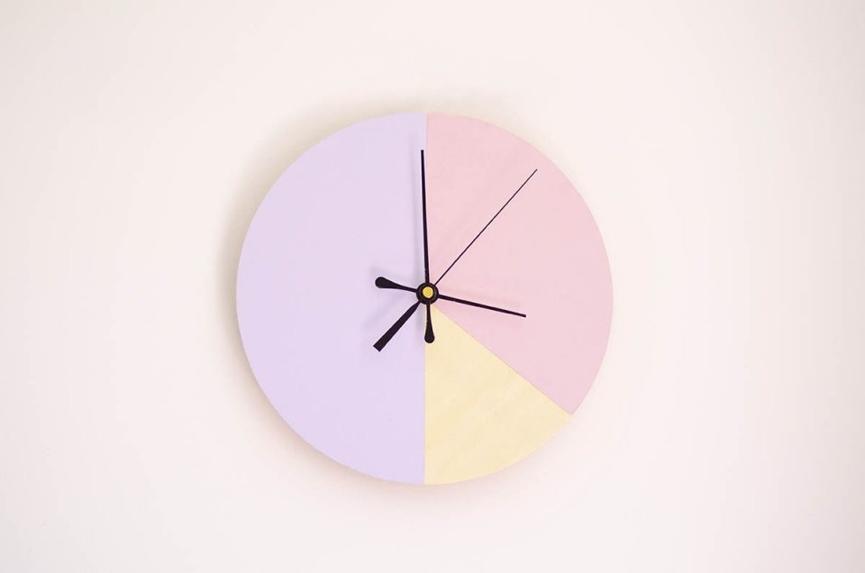 How To Make Your Own Decorative Wall Clock  Kiwi Families von Make Your Own Clock Photo