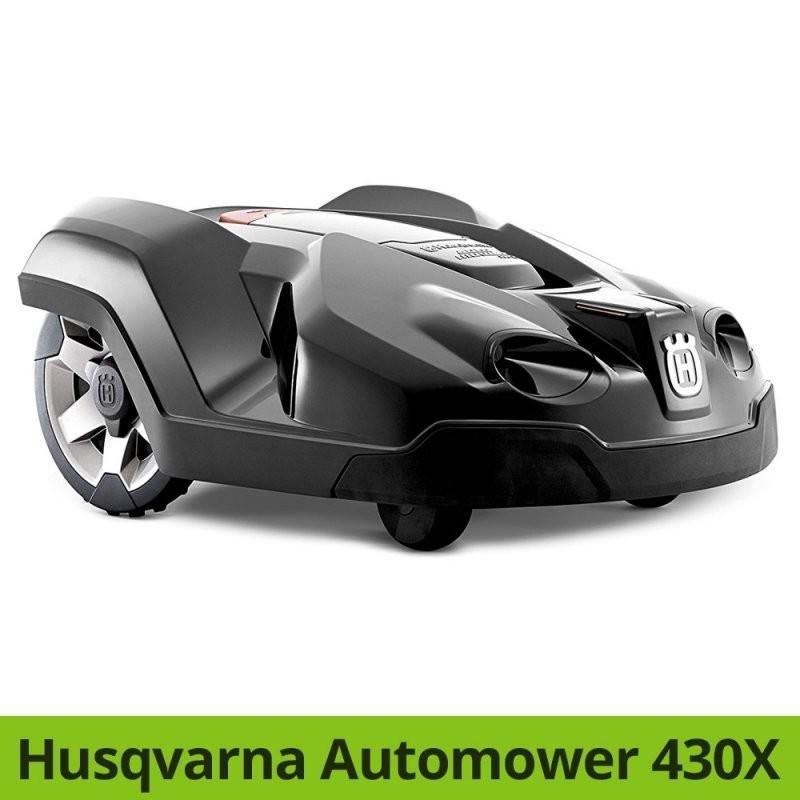 Husqvarna Automower 450X  440  430X  420 Vergleich  Rasenmähroboter von Husqvarna Automower 430X Test Bild