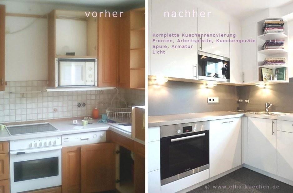 Ideas Küche Folieren Vorher Nachher von Küche Neu Gestalten Vorher Nachher Bild