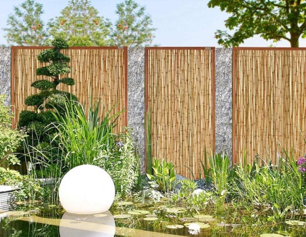 Ideen Für Den Garten Kreativ  Wohndesign von Kleiner Zaun Für Vorgarten Bild