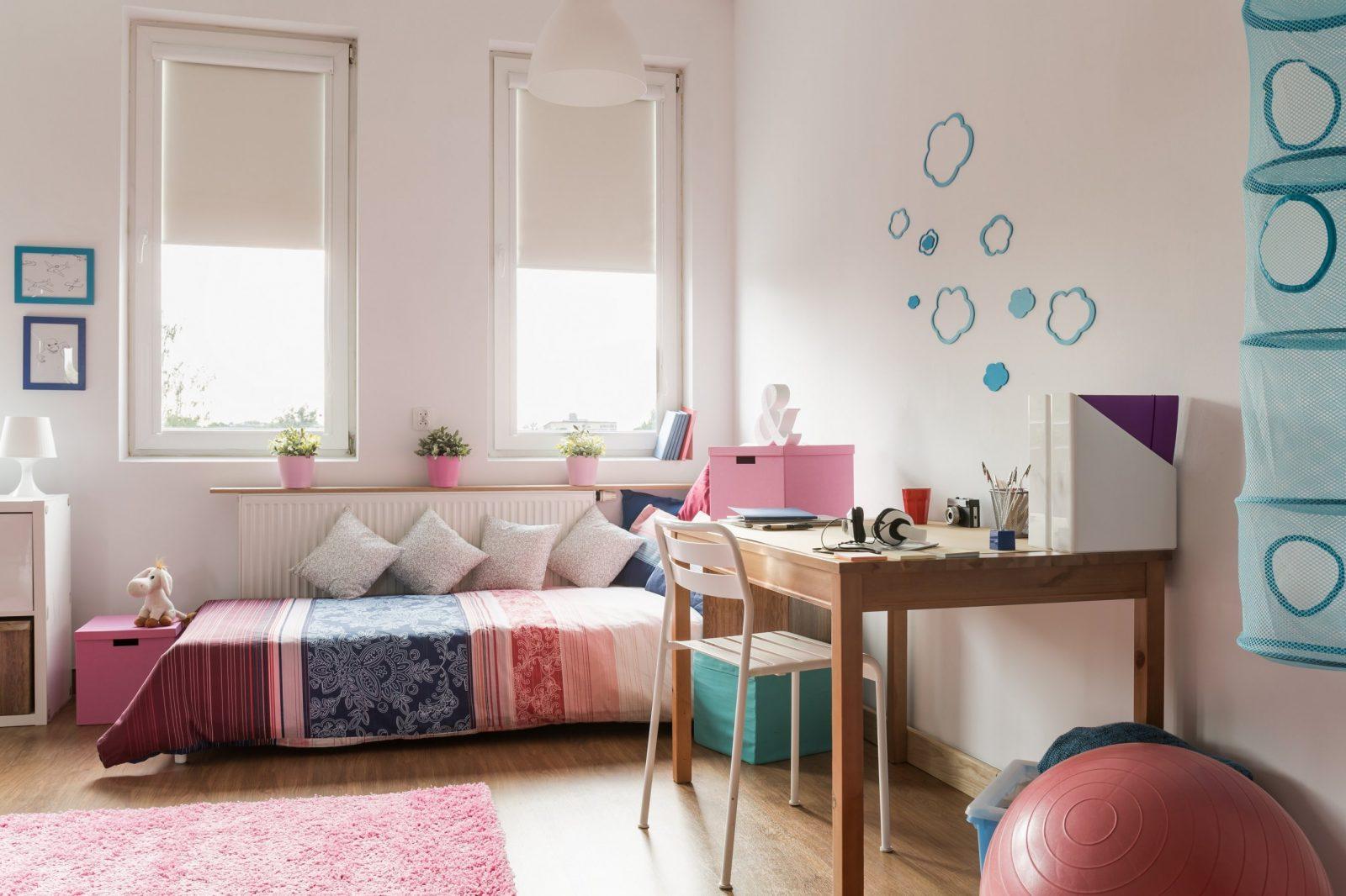 Ideen Für Die Wandgestaltung Im Jugendzimmer Alpina Farbe  Einrichten von Wandgestaltung Kinderzimmer Mit Farbe Bild