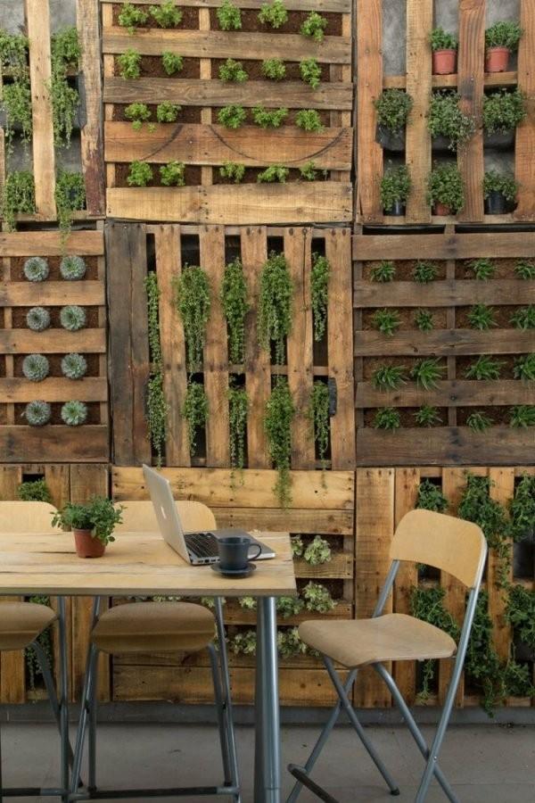 Ideen Für Kreative Verwendung Der Holz Europaletten Im Garten von Kreative Ideen Mit Europaletten Bild