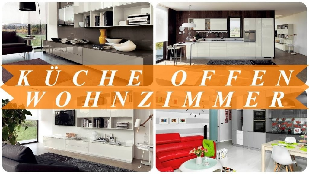 Ideen Für Offene Küche Esszimmer Wohnzimmer  Youtube von Ideen Offene Küche Wohnzimmer Bild
