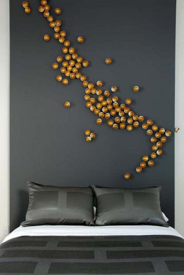 Ideen Für Wandgestaltungcoole Wanddeko Selber Machen  Hausideen von Wandgestaltung Schlafzimmer Selber Machen Photo