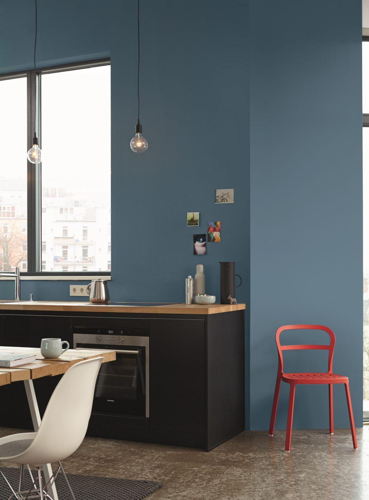 Ideen Fürs Küche Streichen Und Gestalten Alpina Farbe  Einrichten von Wände Streichen Ideen Küche Bild