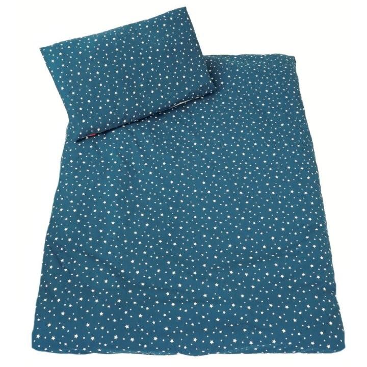 Ideenreich Bettwäsche 100 X 135 Cm Sterne Petrol  Babymarktch von Bettwäsche 100X135 Sterne Bild
