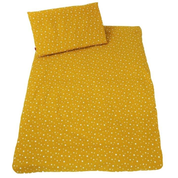 Ideenreich Bettwäsche 100 X 135 Cm Sterne Senf  Babymarkt von Bettwäsche 100X135 Sterne Bild