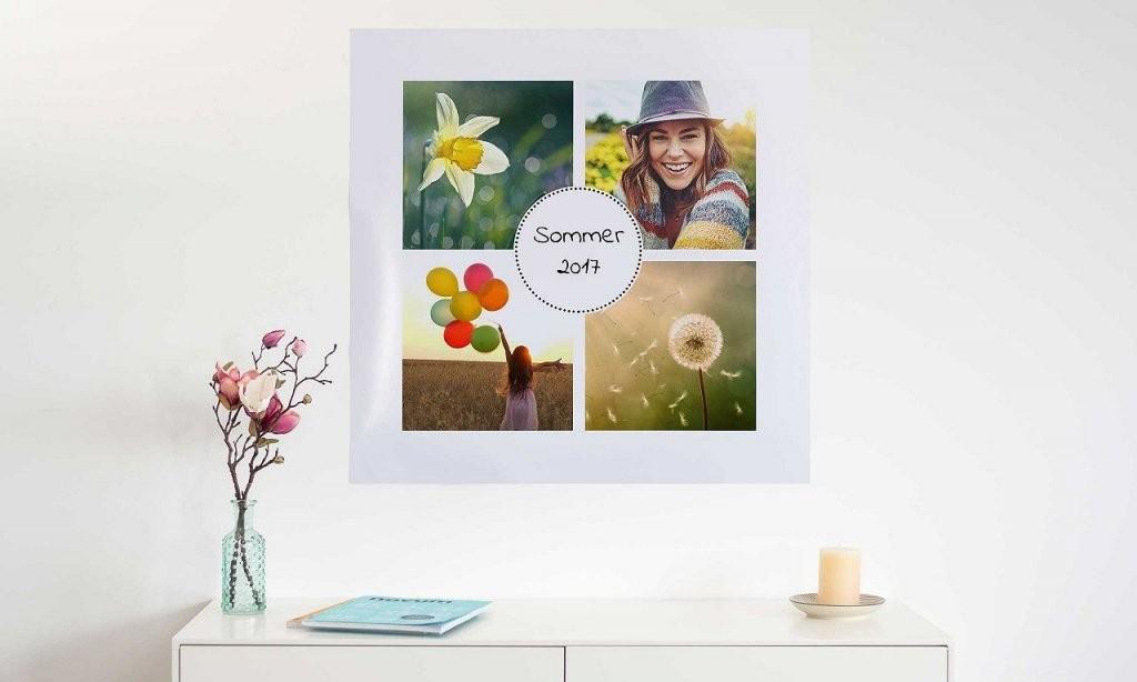 Ihr Bild Als Postercollage Drucken  Bestellen  Posterxxl von Leinwand Collagen Selbst Gestalten Bild