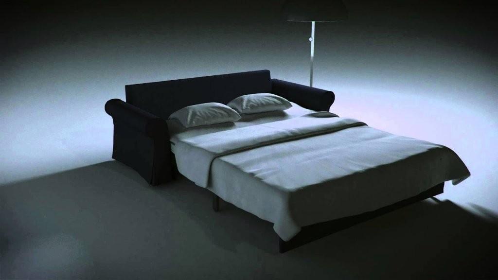 Ikea Backabro Bettsofa Mit Aufbewahrung  Youtube von Schlafsofa Mit Bettkasten Ikea Bild