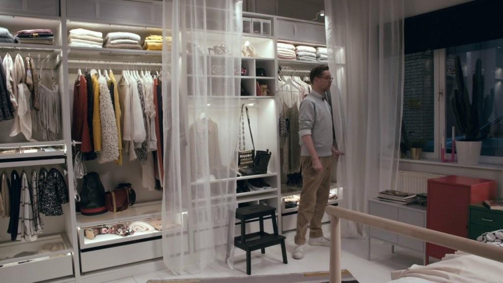 Ikea Behind The Scenes Schlafzimmer Für Fashionfreunde  Youtube von Begehbarer Kleiderschrank Ikea Pax Photo