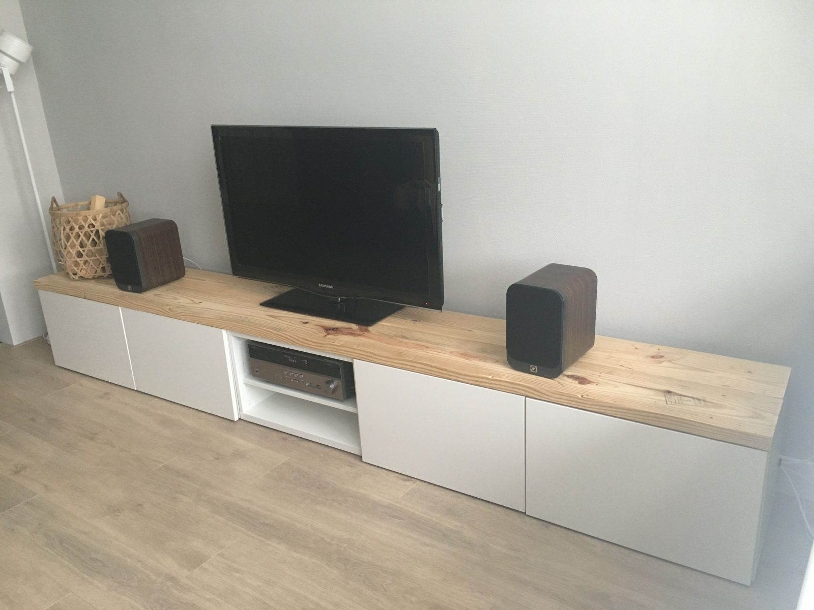 Ikea Besta Tv Hack …  Mueble Para Televisión Moderno  Ikea von Besta Tv Bank Weiß Photo
