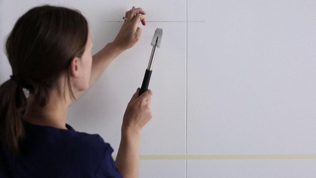 Ikea  Bilder Aufhängen Der Straightlinetrick  Youtube von Ikea Bilderrahmen Ribba Aufhängen Photo