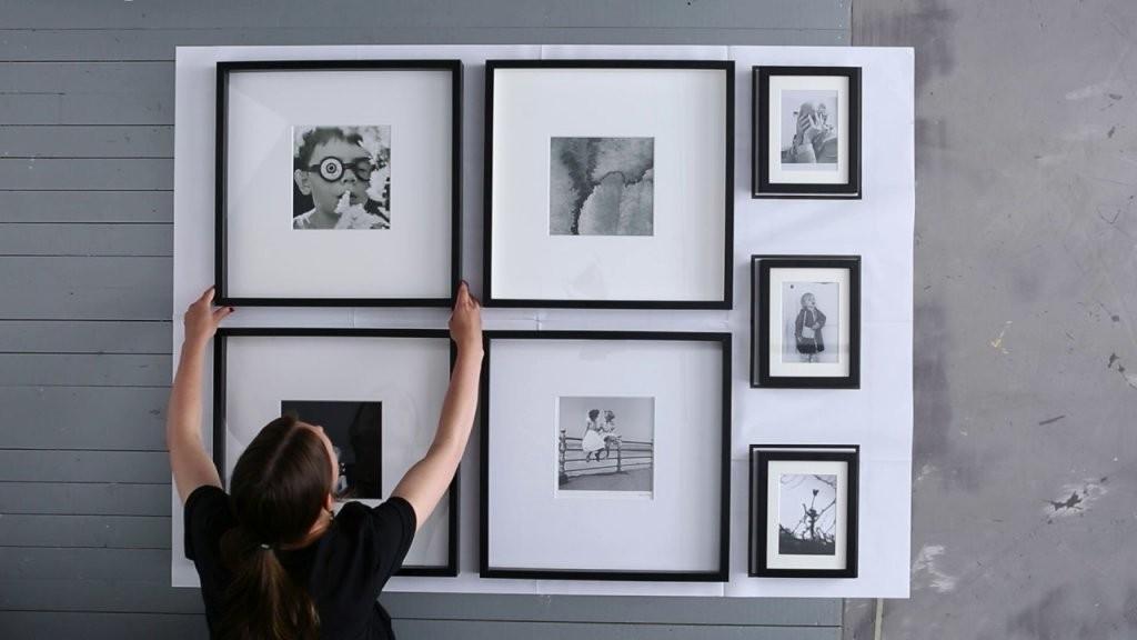 Ikea  Bilder Aufhängen Die Narrensichere Vorlage  Youtube von Ikea Bilderrahmen Ribba Aufhängen Photo
