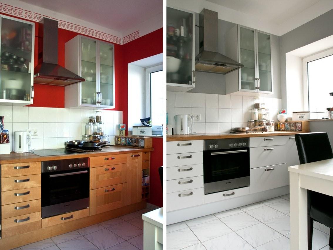 Ikea Faktum Küche Vorhernachher Und Kokosdonuts  Foodlovin' von Ikea Küche Faktum Landhaus Bild