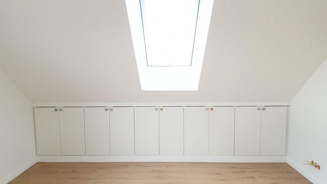Ikea Hack Drempelschrank  Spitzboden In 2019  Dachboden von Schränke Für Schrägen Ikea Bild