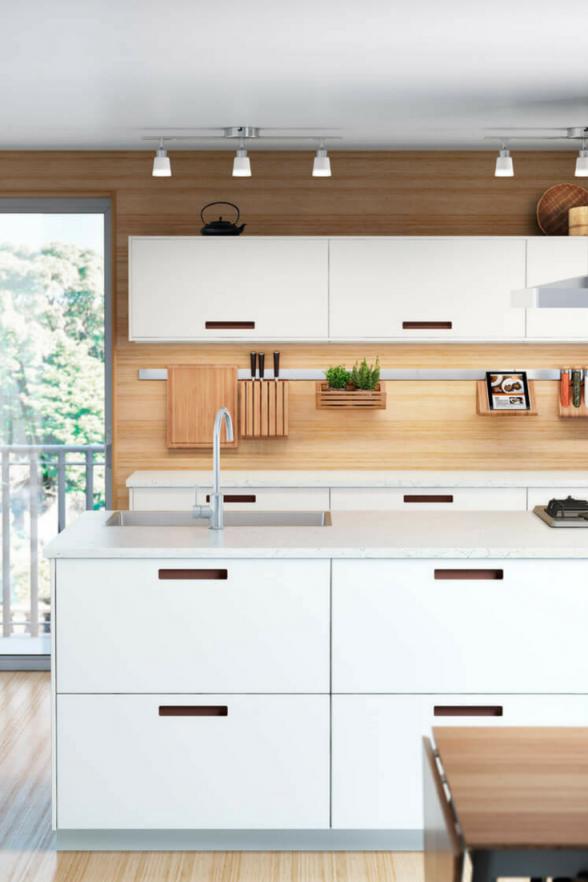 Ikea Küchen Die Schönsten Ideen Und Bilder Für Eine Ikea von Ikea Küche Mit Kochinsel Photo