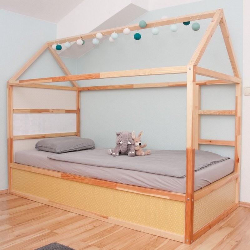 Ikea Kura Hausbett Die Besten Ideen Zum Schlafen Unterm Dach von Kinderbett Selber Bauen Haus Bild