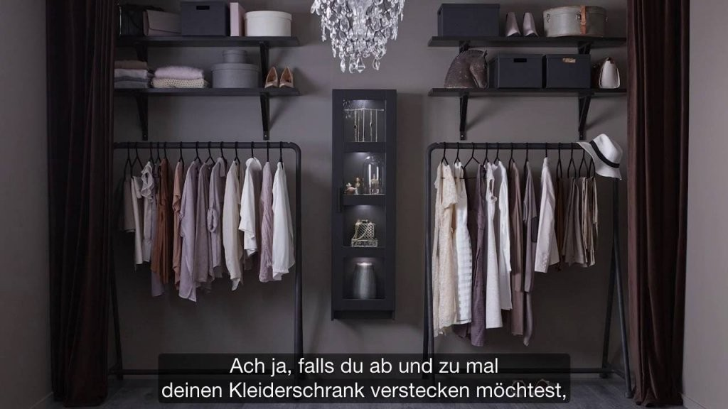 Ikea Offener Kleiderschrank Für Modefans  Youtube von Begehbarer Kleiderschrank Ikea Stolmen Photo