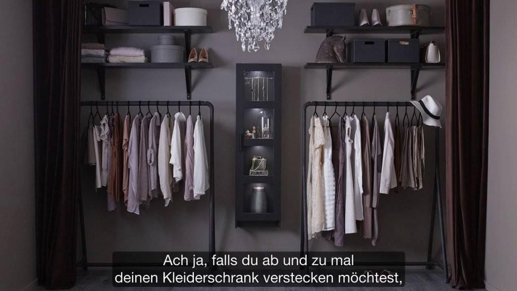 Ikea Offener Kleiderschrank Für Modefans  Youtube von Offener Schrank Mit Vorhang Photo