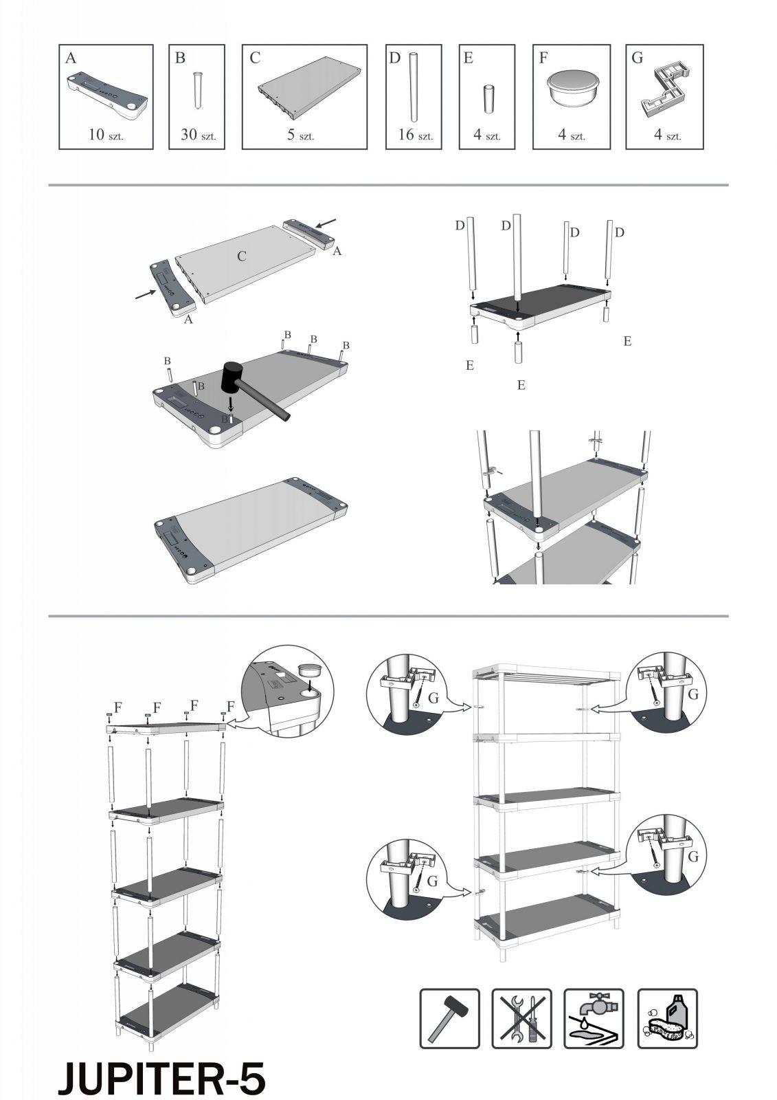 Ikea Pax Anleitung  Montenegro von Ikea Ivar Regal Montageanleitung Photo